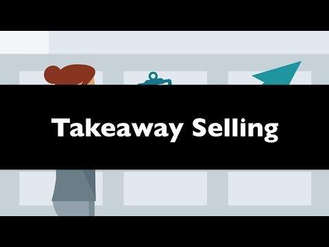 Takeaway Selling :: Coaching High Ticket Marketing Funnel Strategy