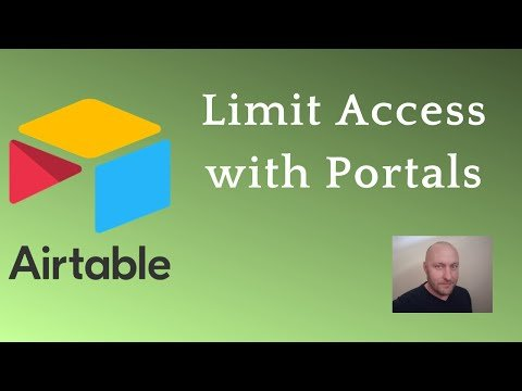 Creating a User Portal for Airtable