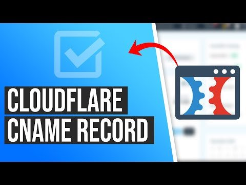 How to Add A Cloudflare CNAME Record to Point to ClickFunnels