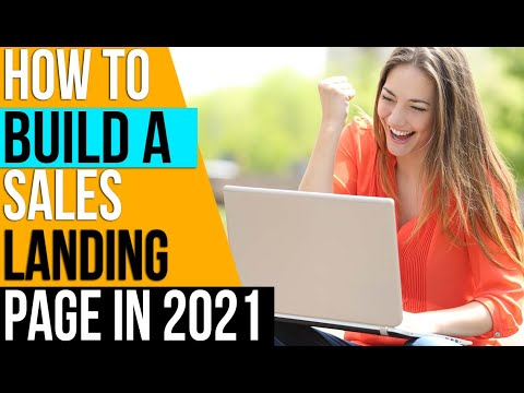 How to Build A Landing Page For Business 🔥