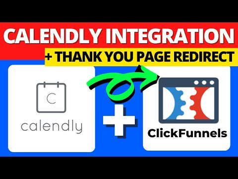 Calendly Tutorial | How To Embed Calendly Into ClickFunnels & Setup Thank You Page
