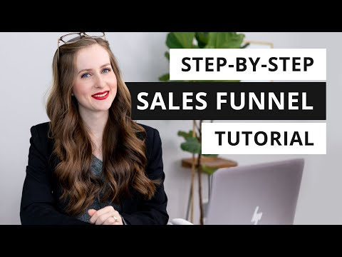 Build a SALES MACHINE for Your Business (Sales Funnel Tutorial)   Episode 7 – Small Business 101