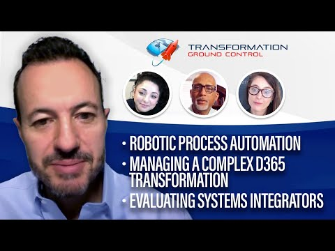 Podcast Ep10: AI and RPA, Microsoft D365 Transformation Case Study, Evaluating ERP Implementers