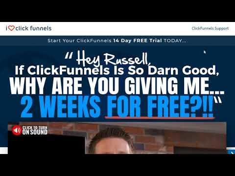 ClickFunnels 14 Day Trial (FREE) I Love ClickFunnels Bonuses
