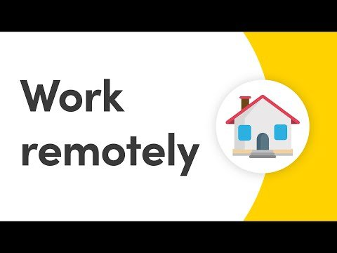 Work remotely with monday.com