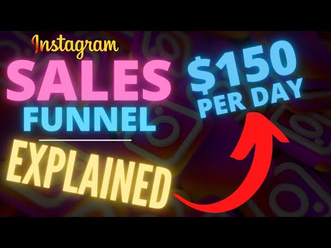 Instagram Sales Funnel 2021 Explained In Detail (Step By Step Tutorial)