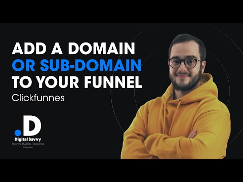 Clickfunnels Tutorial – How to add a domain or a subdomain in your funnel