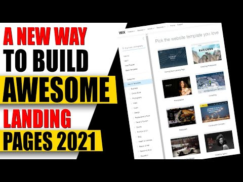 How to Build A Landing Page For Business✅