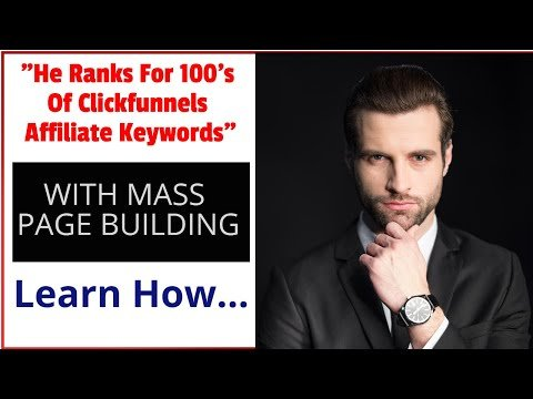 Niche Ripping a Clickfunnels Affiliate Campaign (He Ranks For 100's of Keywords!)
