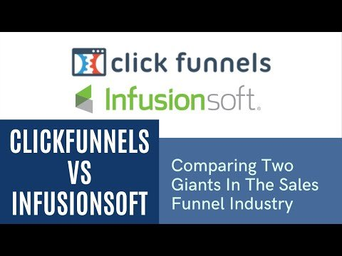 Clickfunnels vs Infusionsoft | Comparing Two Giants In The Sales Funnel Industry