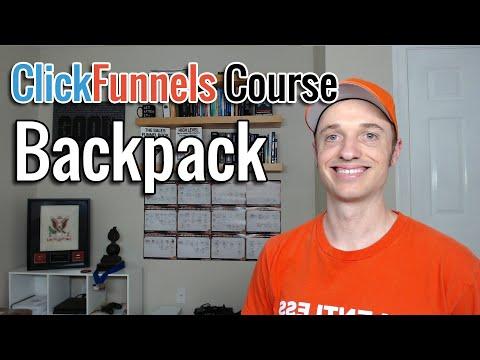 Full ClickFunnels Course [7] Backpack Affiliate Platform