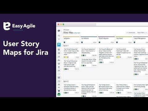 Easy Agile User Story Maps for Jira
