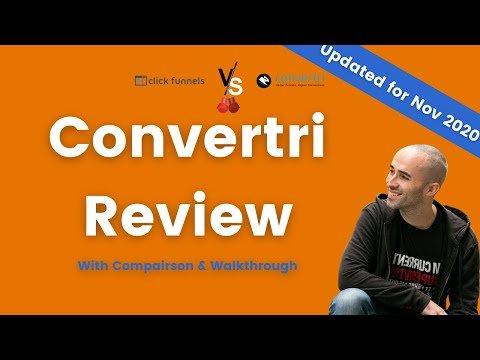 Convertri Review – Funnel Builder Faceoff: Convertri VS Clickfunnels