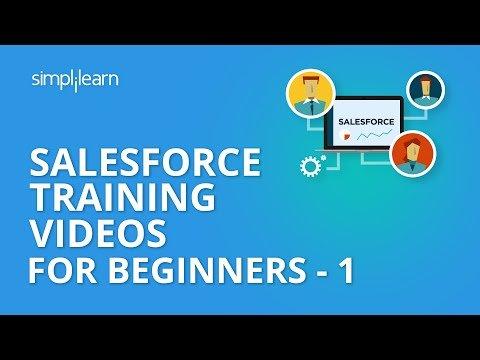 Salesforce Training Videos For Beginners – 1   Salesforce Administrator Training   Simplilearn