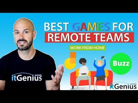 Best Online Games for Remote Work Teams   Zoom & Google Meet