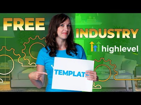 Go High Level – FREE TEMPLATES! Funnels & Text Sequences for Chiro, Med Spa, Gyms, Solar, & MORE!