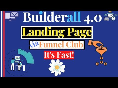 🎉 BUILDERALL 4.0 FUNNEL CLUB : How To Create Sales Funnel With Builderall Landing Pages Builder