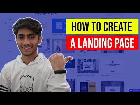 How To Create A Landing Page For Business🔥 Free Step-by Step Tutorial