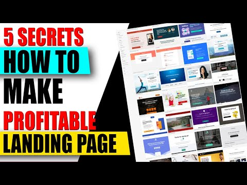 How to Make Own Landing Page For Business ✅