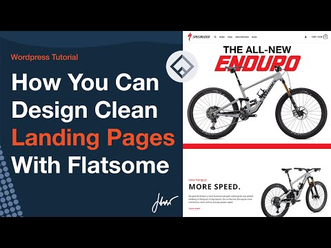 How You Can Design Clean Landing Pages With Flatsome UX Builder   WordPress