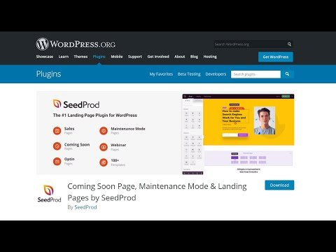 How To Use Coming Soon, Maintenance & Landing Pages by SeedProd WordPress Plugin?