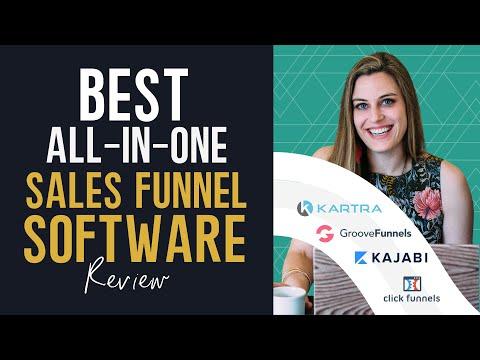 Best Sales Funnel Software Review | 2021 | ClickFunnels, Kartra, Kajabi, and Groove
