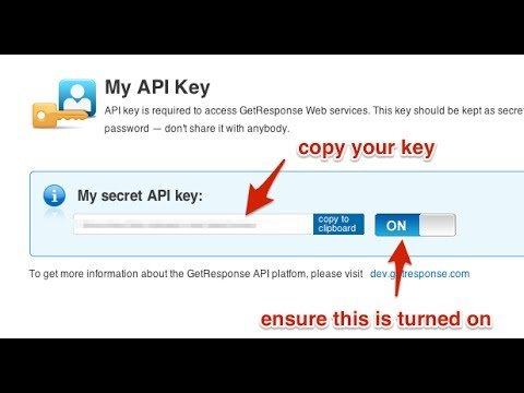 Integrating Getresponse API Key With Clickfunnels With Correct Campaign