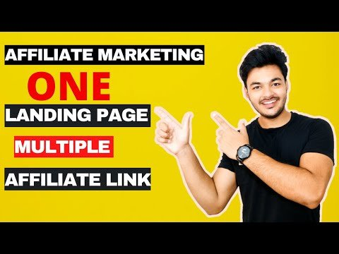 How To Promote Multiple Affiliate Product From One Landing Page (FREE) In 2020 [ To Earn Money Fast]