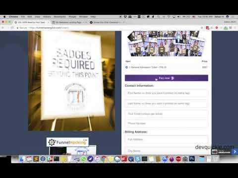 Stripe One Click Checkout in ClickFunnels