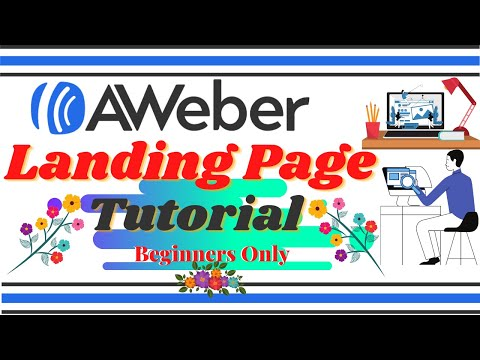 AWEBER LANDING PAGE TUTORIAL: How To Create A Sales Funnel With AWeber Landing Page Builder