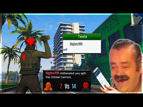 Edgy Griefer Kid Spends Nearly $800,000 To Orbital Strike Me on GTA 5 Online