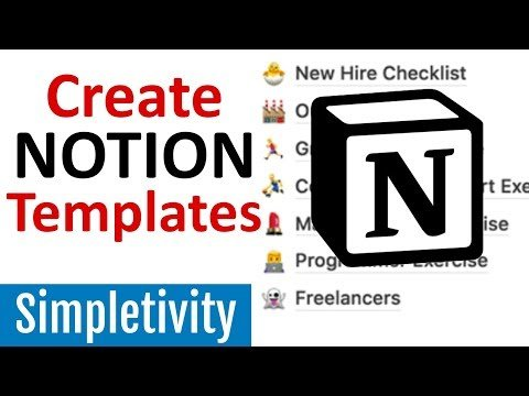 What is Notion and How to Create a Template (Tutorial)