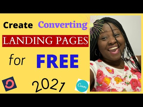 How To Create a Landing Page for FREE 2021| Affiliate Marketing Landing Page | Complete Tutorial