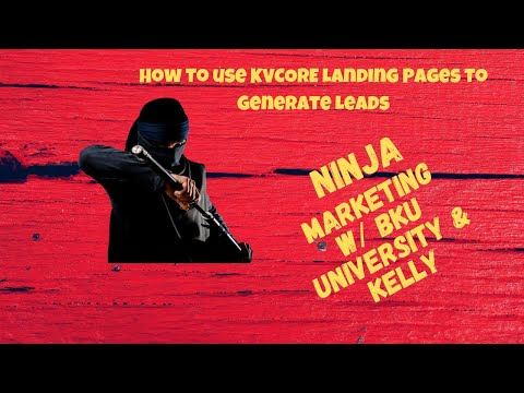 🔥 How To use KVCORE Landing Pages To Generate Leads   Real Estate Marketing
