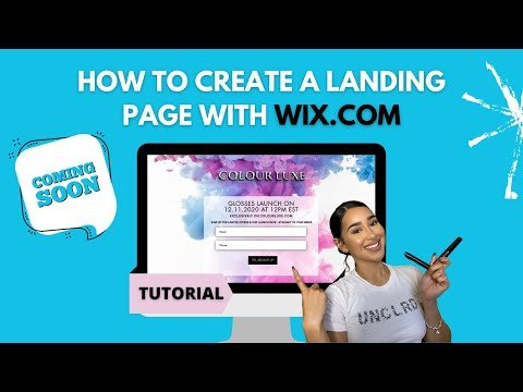 HOW TO CREATE A LANDING PAGE /COMING SOON PAGE/ PASSWORD PROTECTED PAGE WITH WIX.COM IN 2021