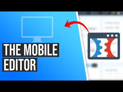 How to Use The Mobile Page Editor in ClickFunnels