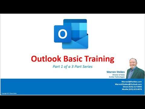 Outlook Basic Training