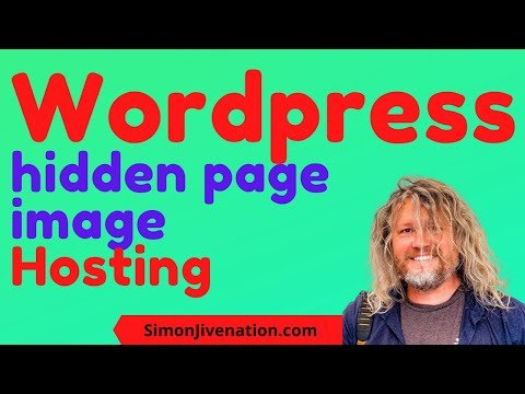 How to host free Images on your wordpress page