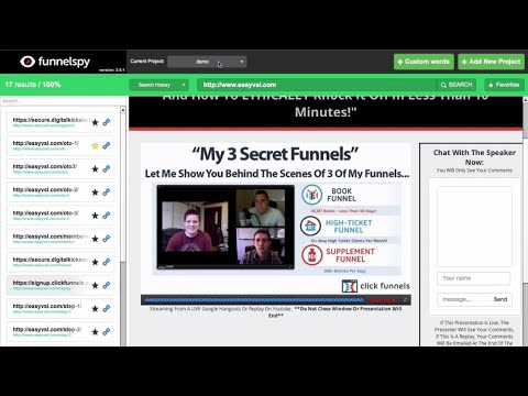 FunnelSpy Review Demo – Sales Funnel Spy Tool Research Software