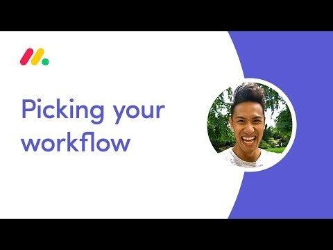 monday.com Webinar: Picking your workflow