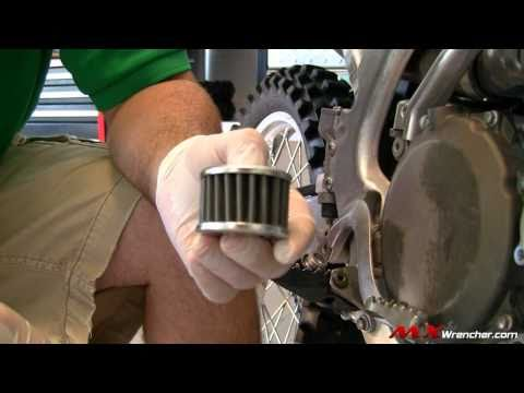MXWrencher.com – How to do a 4 Stroke Oil Change