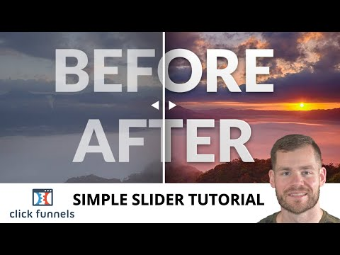 How to Create Before After Slider in Clickfunnels