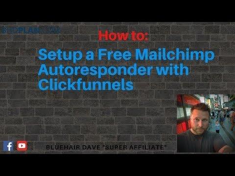 How to Setup Free Mailchimp Autoresponder with Clickfunnels