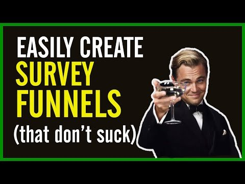 How to Create A Survey Funnel (THAT WORKS). Easy Clickfunnels training.