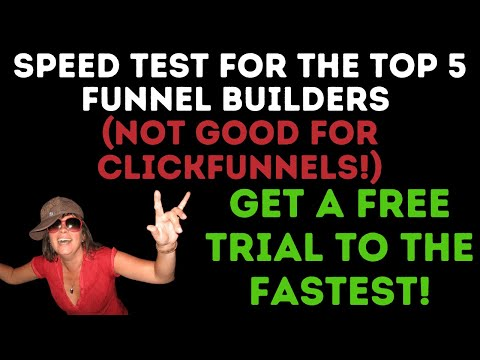 🆕Clickfunnels Alternatives   Sales Funnel Builders (Speed Tests) #shorts