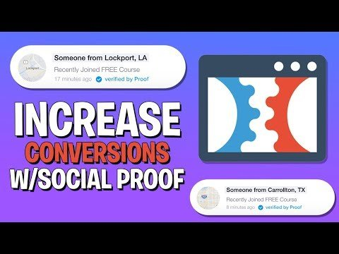 ClickFunnels Social Proof Hack to Increase Conversion Rate for Lead Funnel
