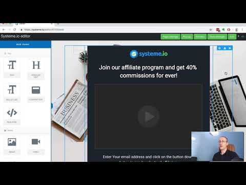 How to build a sales funnel with systeme.io