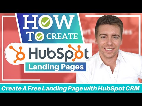 HOW TO CREATE A LANDING PAGE for free | HubSpot Tutorial for Beginners