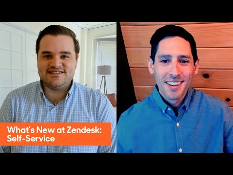 What's New at Zendesk: Self Service