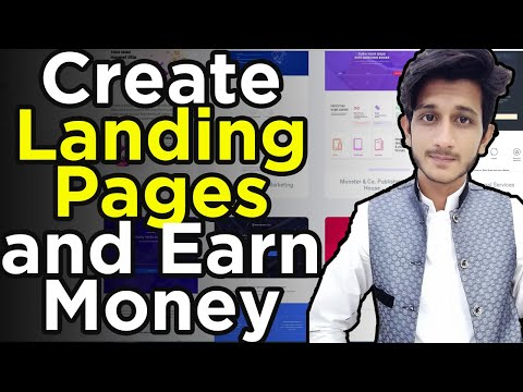 How To Earn Money From Fiverr    Create Landing Pages and Earn Money